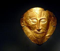 The Mask of Agamemnon. Photo by Xuen Che