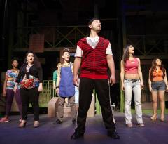 mike magliocca and other cast members from In the Heights