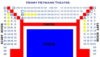 Henry Heymann Seating Chart